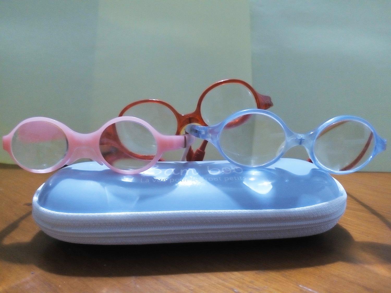 Bébé malvoyant: les lunettes un casse tête