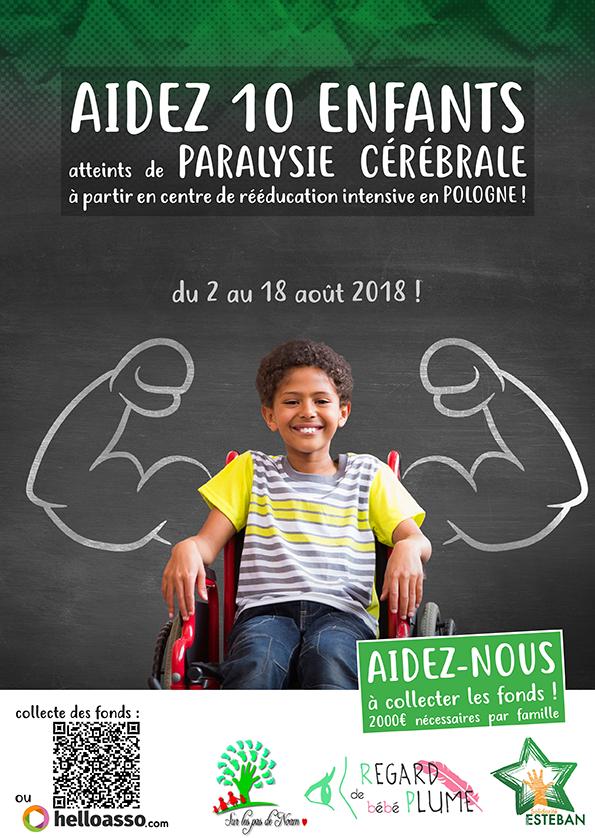 Premier projet associatif : aider 10 enfants à faire un stage de rééducation intensive en Pologne